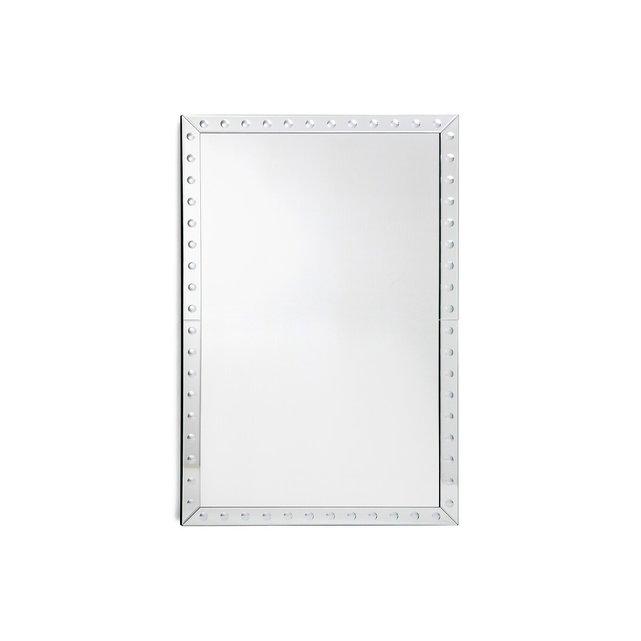 Ορθογώνιος καθρέφτης Υ110 εκ., Roxane