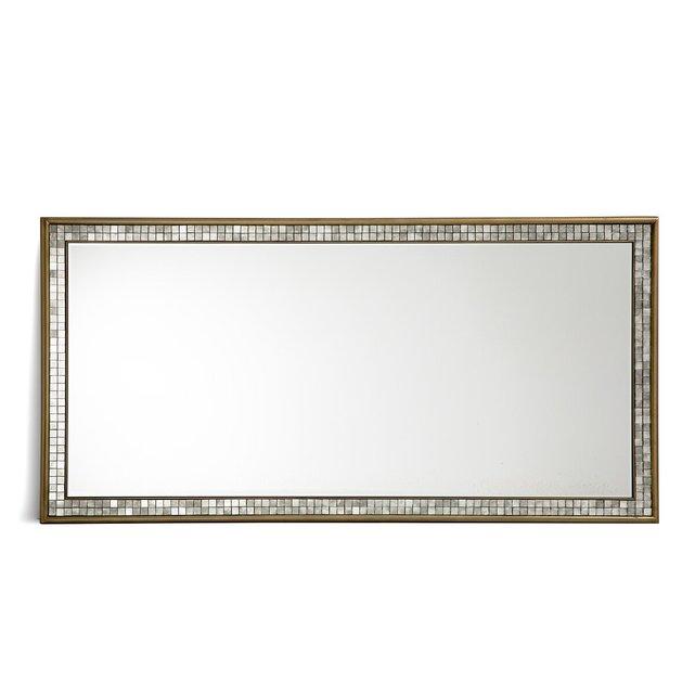 Καθρέφτης με πλαίσιο μωσαϊκό Υ160 εκ., Josephine