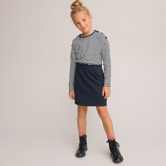 Ίσιο φούστα με λάστιχο στη μέση, 3-12 ετών
