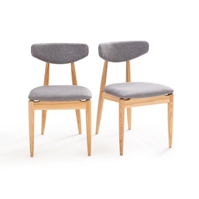 Σετ 2 καρέκλες vintage από ξύλο δεσποτάκι, Nochy