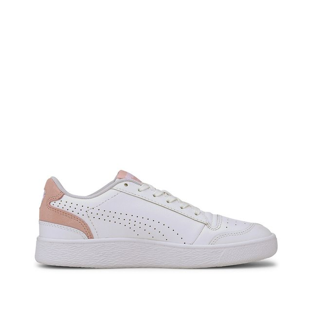 Ralph Sampson Lo Perf Brushed Trainers in Leather