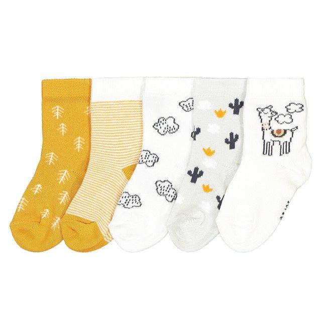 Σετ 5 ζευγάρια κάλτσες, 15 18 έως 23 26