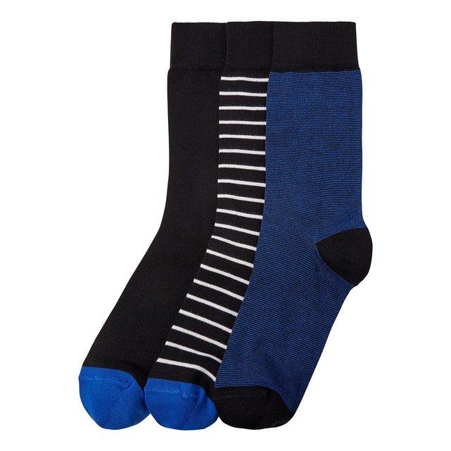 Σετ 3 ζευγάρια βαμβακερές κάλτσες