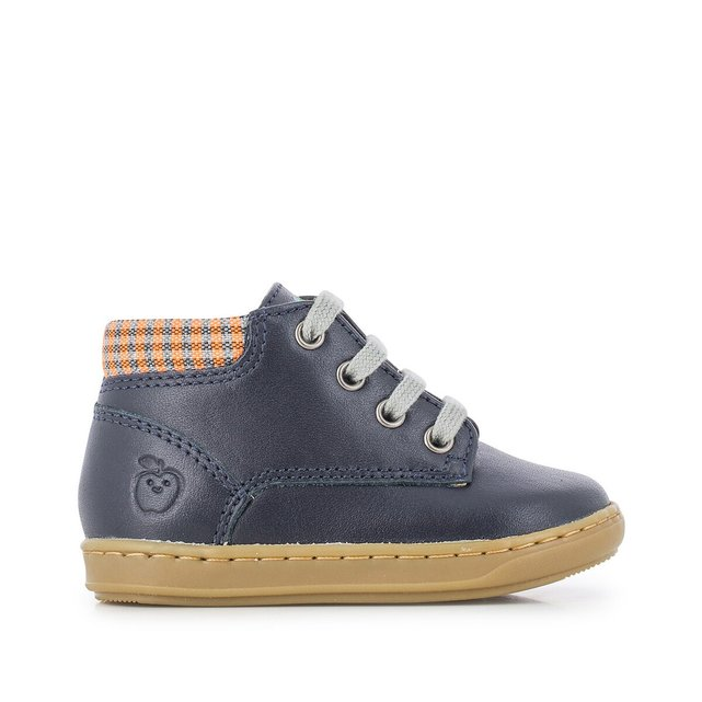 Kids Bouba Zip Dessert Trainers in Leather
