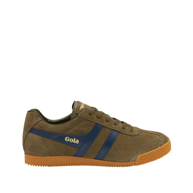 Harrier Leather Trainers