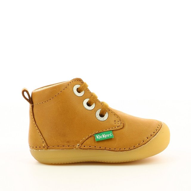 Kids Soniza Leather Bootees
