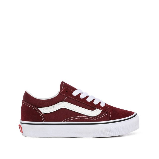 Kids UY Old Skool Trainers in Leather