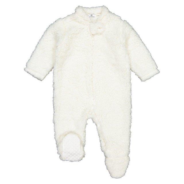 Ολόσωμη φόρμα με όψη μουτόν, 1 μηνός - 3 ετών