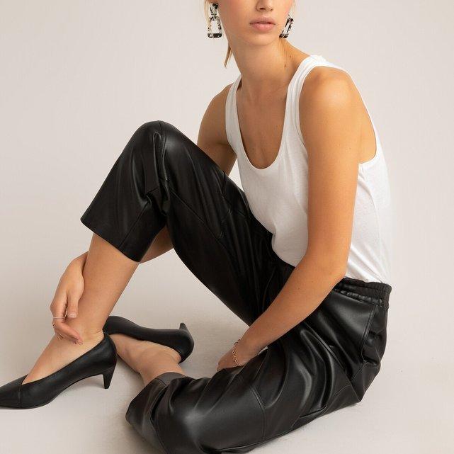 Παντελόνι από συνθετικό δέρμα