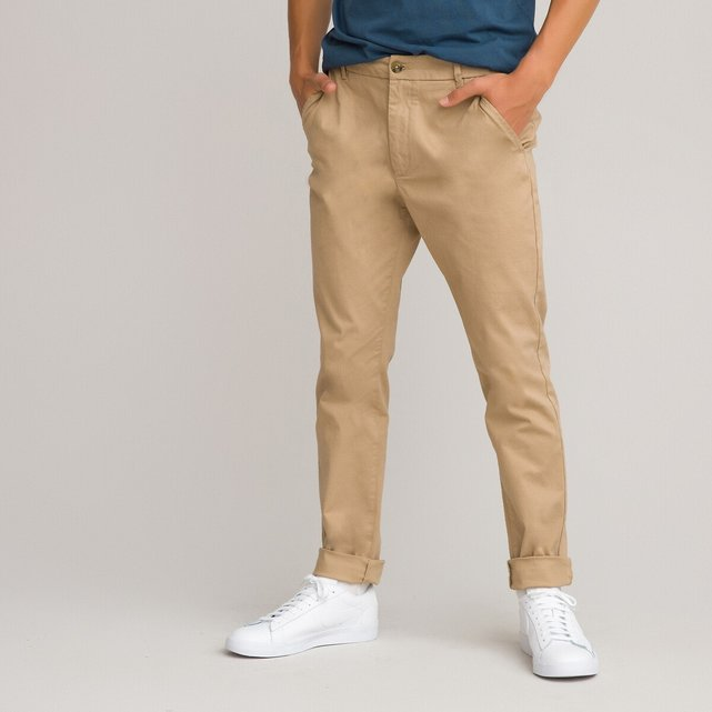 Παντελόνι με λοξές τσέπες, 10-18 ετών