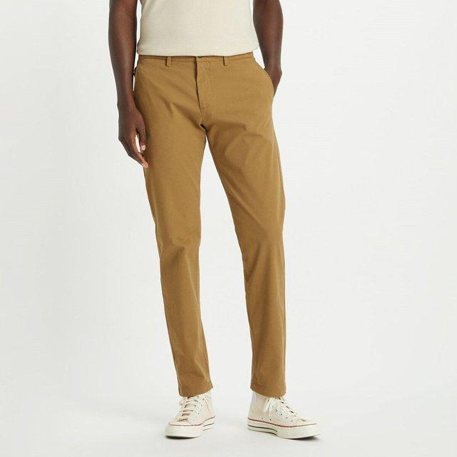 Στρετς παντελόνι chino με μπατζάκια που στενεύουν στη βάση, Smart 360 Flex