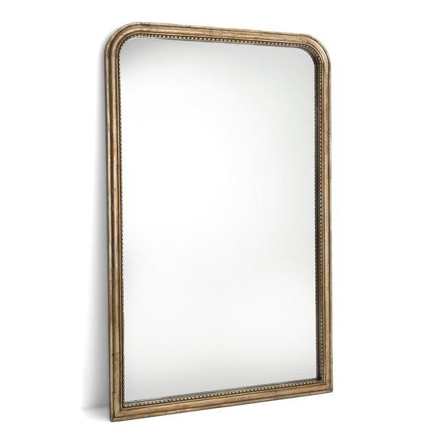 Καθρέφτης από μασίφ ξύλο μάνγκο Υ160 εκ., Afsan