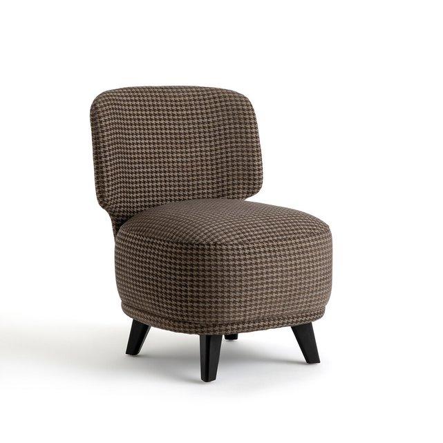 Πολυθρόνα με μοτίβο πιε-ντε-πουλ μέγεθος L, Odalie σχεδίασης E. Gallina