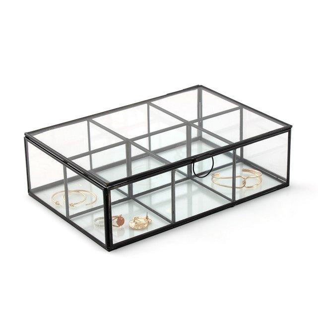 Κουτί από γυαλί και μέταλλο με πολλά χωρίσματα, Uyova