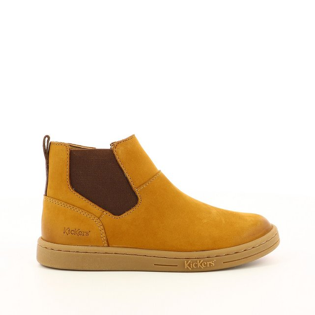 Kids Tackbo Ankle Boots in Suede