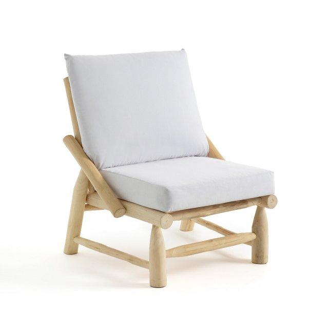 Πολυθρόνα κήπου από ξύλο teak, Ghana