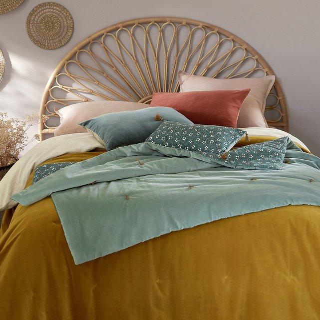 Εμπριμέ κάλυμμα κρεβατιού από βελούδο, Olden