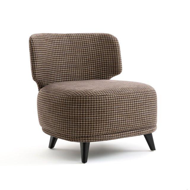 Πολυθρόνα με μοτίβο πιε-ντε-πουλ Μέγεθος XL, Odalie Gallina