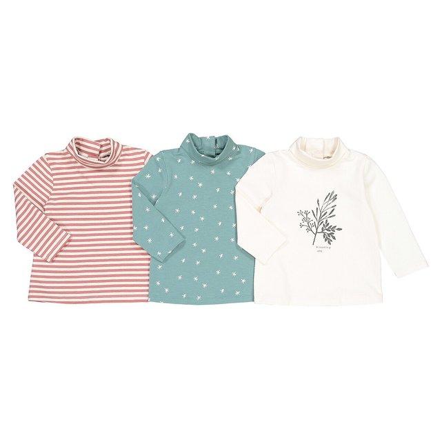 Σετ 3 μακρυμάνικες μπλούζες, 3 μηνός - 4 ετών