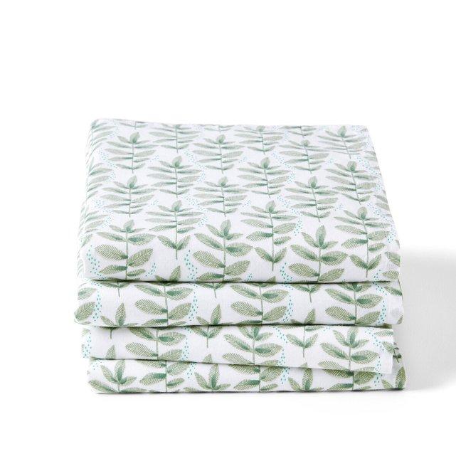 Σετ 4 πετσέτες φαγητού, Evergreen