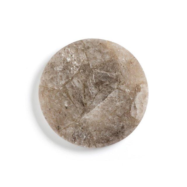 Σουπλά από χαλαζία διαμέτρου 25 εκ., Agate