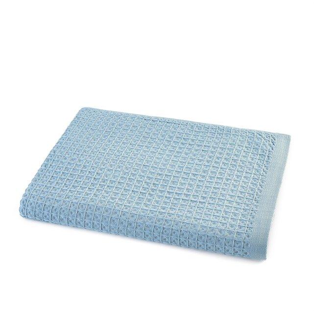 Πετσέτα μπάνιου από οργανικό βαμβάκι με γκοφρέ υφή, Wafflie