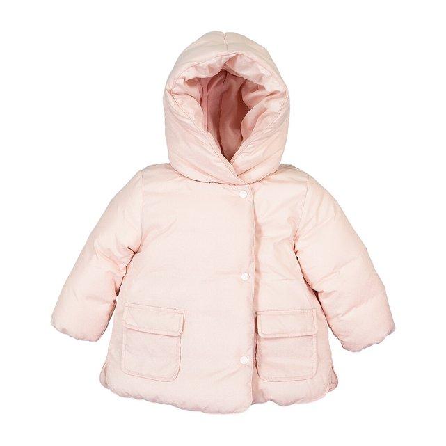 Ζεστό καπιτονέ μπουφάν με κουκούλα, 3 μηνών - 4 ετών