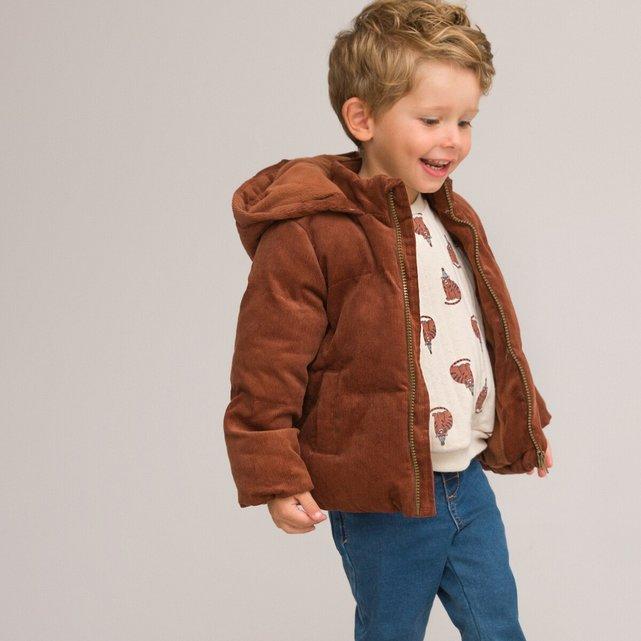 Ζεστό καπιτονέ μπουφάν με κουκούλα, 3 μηνών - 3 ετών