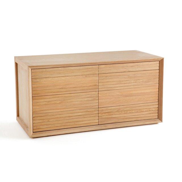 Διπλό κάτω μέρος με συρτάρια σύνθεσης ντουλάπας Joaquin