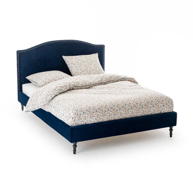 Κρεβάτι από βελούδο με τρουκ και τάβλες, Andante