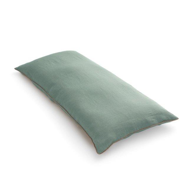 Θήκη για στρώμα δαπέδου 120 εκ. από προπλυμένο λινό, Onega