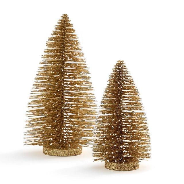 Σετ 2 διακοσμητικά χριστουγεννιάτικα δέντρα, Caspar