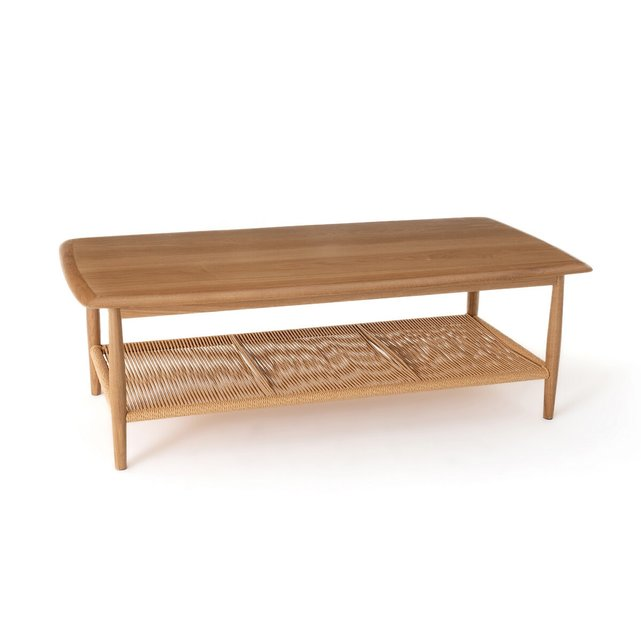 Χαμηλό τραπεζάκι από ξύλο δρυ, Malora