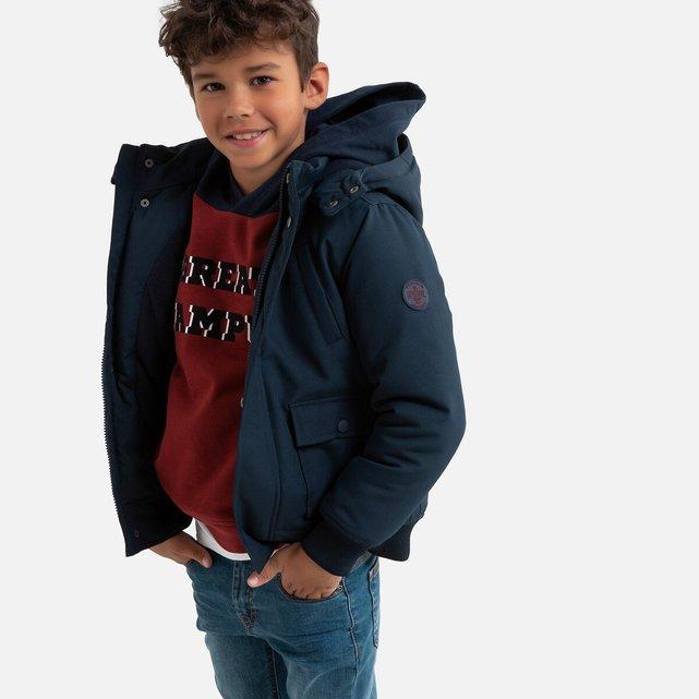 Ζεστό μπουφάν με κουκούλα, 3-12 ετών