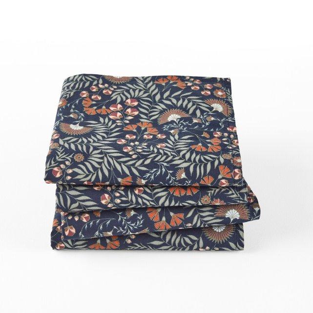 Σετ 4 πετσέτες φαγητού από προπλυμένο βαμβάκι, Majari