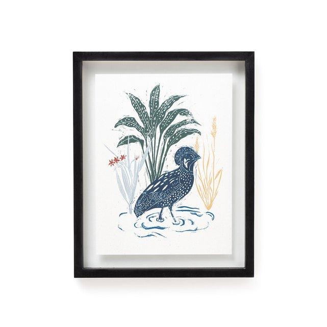 Κάδρο με μοτίβο πουλιά, Huba
