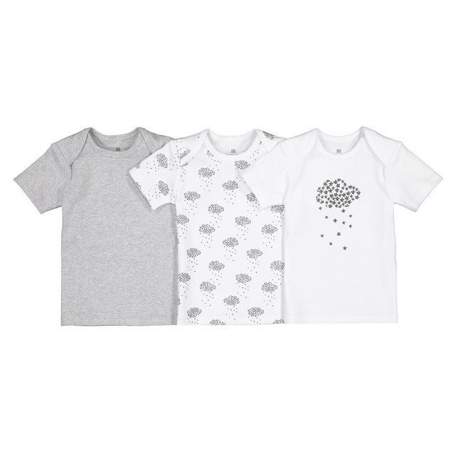 Σετ 3 κοντομάνικα Τ-shirt, 0 - 3 ετών