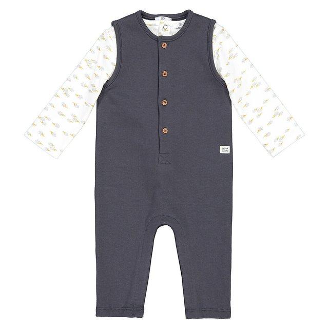 Σύνολο σαλοπέτα και μπλούζα, 0 - 2 ετών
