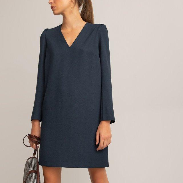 Ίσιο φόρεμα από ανακυκλωμένο πολυέστερ, La Redoute x You