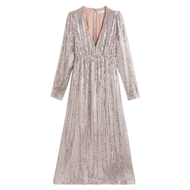 Μακρύ φόρεμα με πούλιες