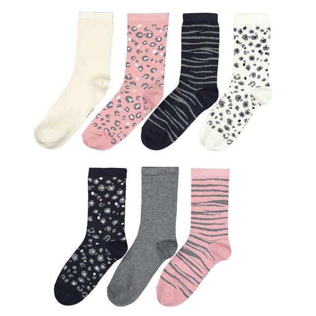 Σετ 7 ζευγάρια κάλτσες, 23|26-39|42