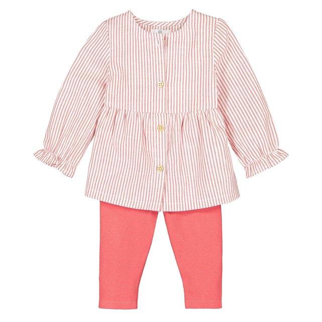 Σύνολο μπλούζα και κολάν, 3 μηνός - 4 ετών