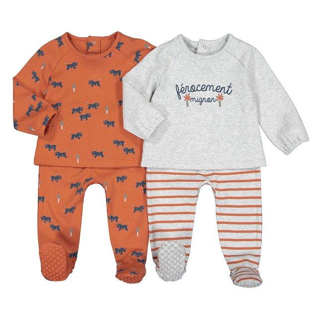 Σετ 2 πιτζάμες, 0 - 3 ετών