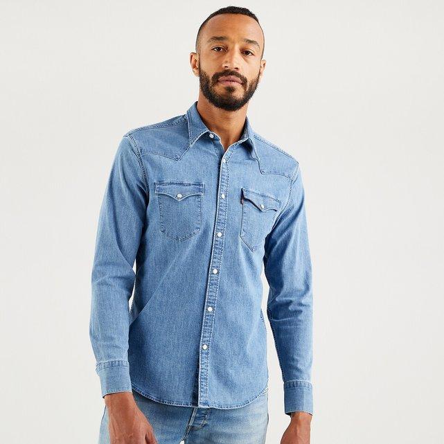 Στρετς τζιν πουκάμισο, Barstow Western