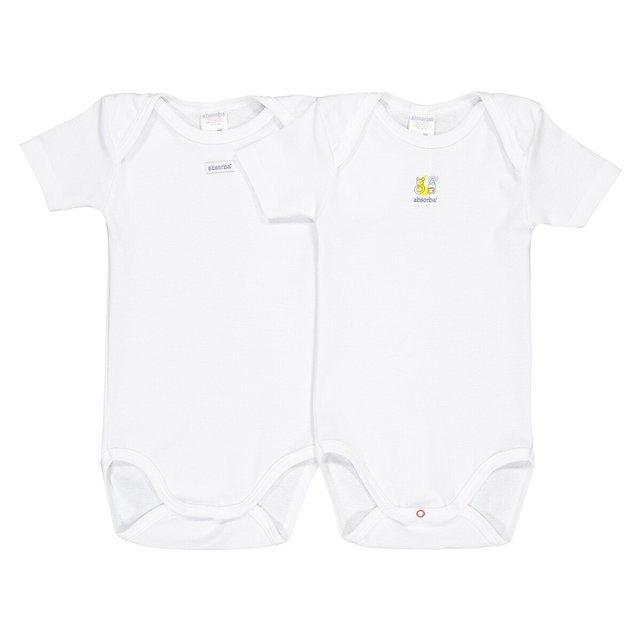 Σετ 2 κορμάκια με κοντά μανίκια, 3 μηνών - 3 ετών