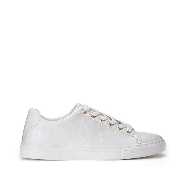 Αθλητικά παπούτσια με κροκό print