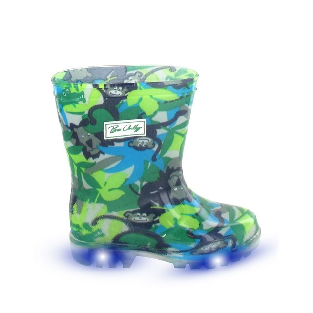 Μπότες με φωτεινή σόλα, Jungle Flash