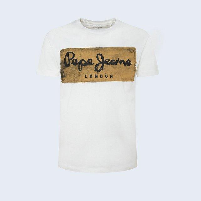 Κοντομάνικη μπλούζα με στάμπα