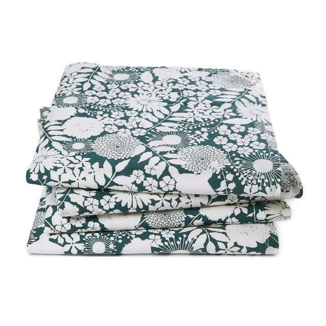 Σετ 4 πετσέτες φαγητού από προπλυμένο βαμβάκι, Anthelie