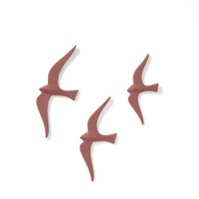 Σετ 3 διακοσμητικών τοίχου με πουλιά, Tuga